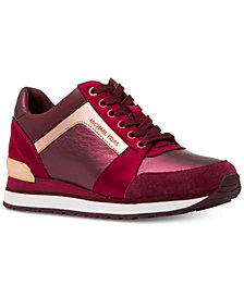 MICHAEL Michael Kors Billie Trainer Lace Up Sneakers