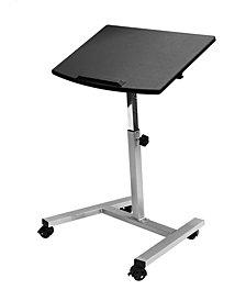 Tilting Mobile Laptop Desk Cart