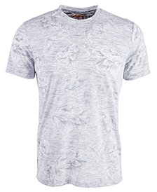 American Rag Men's Textured Floral T-Shirt, Created for Macy's