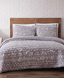 Brooklyn Loom Sand Washed Cotton King Quilt Set