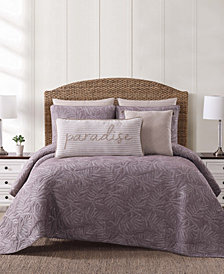 Oceanfront Resort Chambray Coast Full/Queen Quilt Set