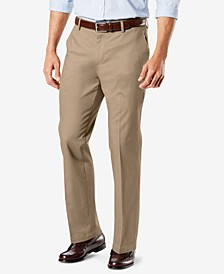 Signature Lux Cotton Stretch Khaki Pants Collection