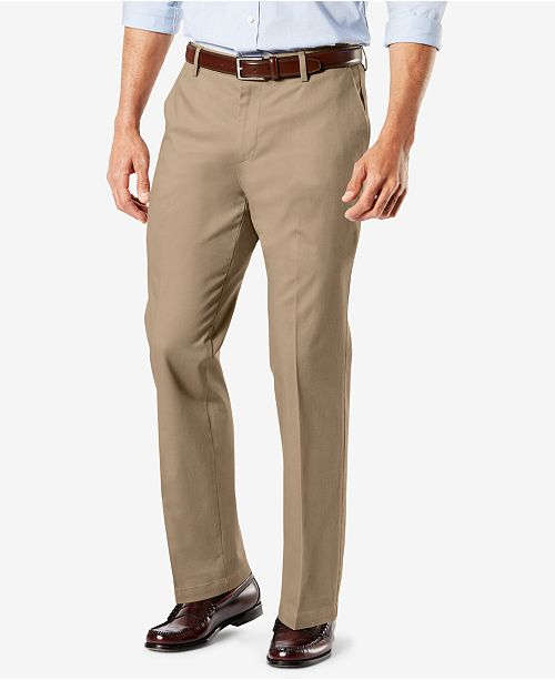 Dockers Signature Lux Cotton Stretch Khaki Pants Collection