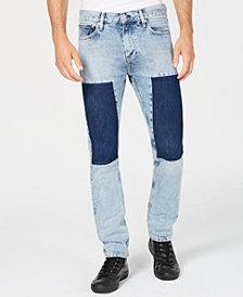 Calvin Klein Jeans Men's Tash Slim-Fit Patch Jeans