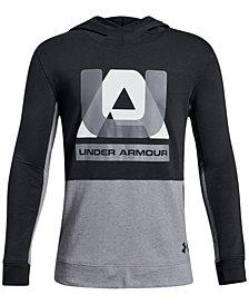 Under Armour Big Boys Sportstyle Logo-Print Hoodie
