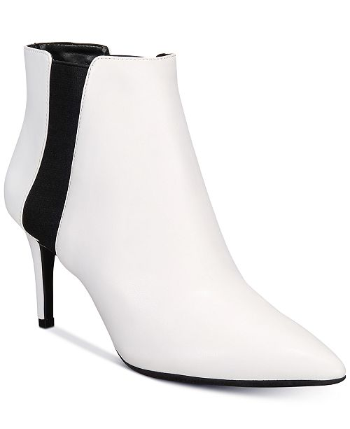 INC International Concepts I.N.C. Irsia Ankle Booties, Created for Macy's