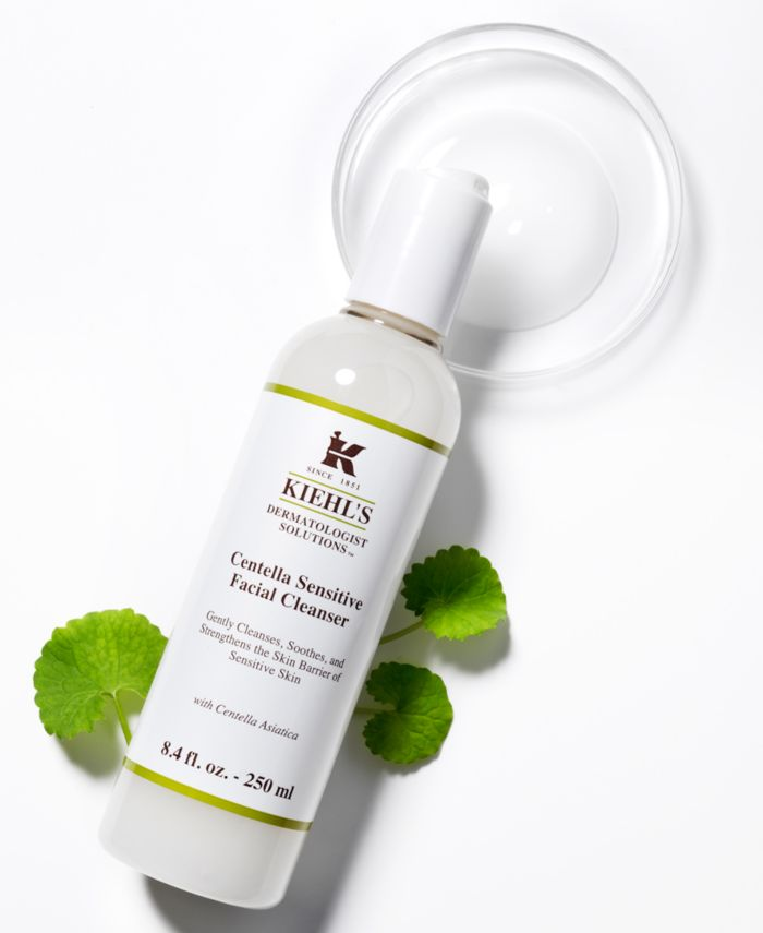 Kiehl's Since 1851 Dermatologist Solutions Centella Sensitive Facial Cleanser, 8.4-oz. & Reviews - Skin Care - Beauty - Macy's