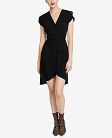 RACHEL Rachel Roy High-Low Faux-Wrap Dress, Created for Macy's
