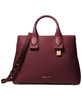 michael kors rollins medium satchel handbags accessories macy s rh macys com