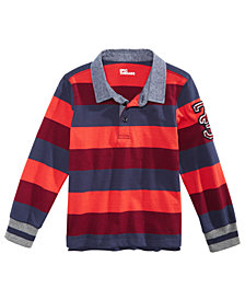 Epic Threads Little Striped Skull Cotton Rugby Shirt, Created for Macy's