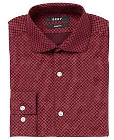 DKNY Big Boys Neat Foulard Shirt