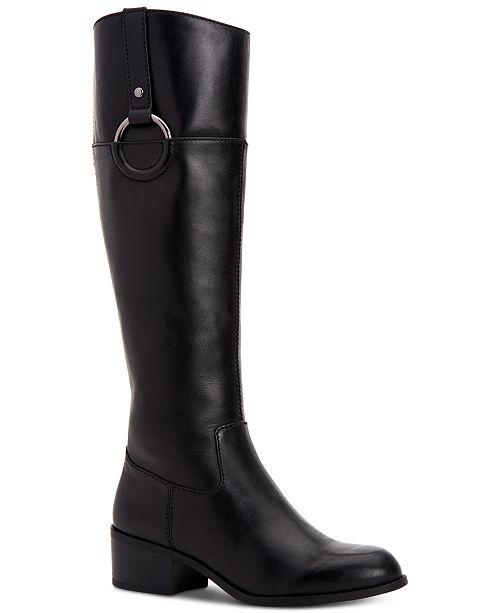 Alfani Women's Step 'N Flex Briaah Riding Boots, Created for Macy's