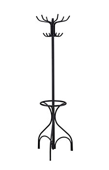 "Chelsea 70"" Traditional Metal Coat Rack"