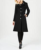 ed5964d1ad3f0 Anne Klein Single-Breasted Midi Coat