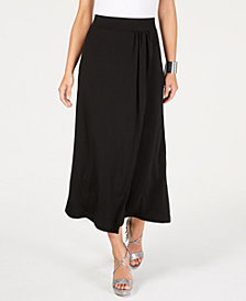 Thalia Sodi Solid Wrap Maxi Skirt, Created for Macy's