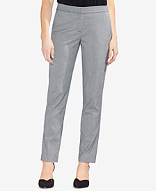 Vince Camuto Houndstooth-Print Skinny Pants
