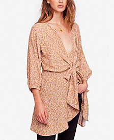 Free People Clara Tie-Front Tunic