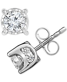 TruMiracle® Diamond Stud Earrings (3/4 ct. t.w.)