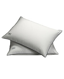 White Down Side & Back Sleeper Overstuffed Pillow Certified RDS (Set of 2) - Standard/Queen Size