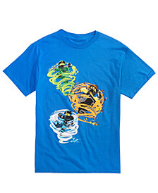 LEGO® Little Boys Ninago Swirls Graphic Cotton T-Shirt