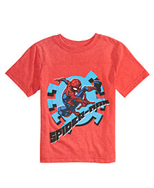 Marvel Little Boys Spider-Man Graphic T-Shirt