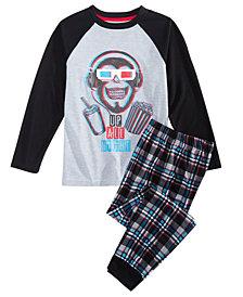 Max & Olivia Little & Big Boys 2-Pc. Up All Night Pajama Set