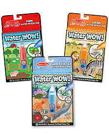 Melissa & Doug 3-Pk. Water Wow! Water Reveal Pads