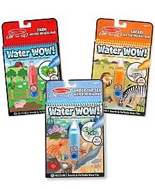 Water Wow! - Water Reveal Pad Bundle - Farm, Safari & Under The Sea