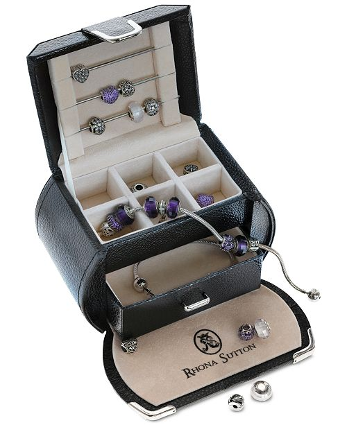 Rhona Sutton Classics Bead Charm, Bracelet and Jewelry Box Collection