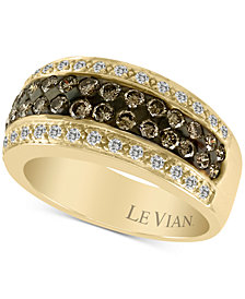 Le Vian Chocolatier® Diamond Ring (1 ct. t.w.) in 14k Gold