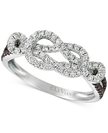 Exotics® Diamond Loop Ring (1/2 ct. t.w.) in 14k White Gold