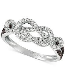 Le Vian Exotics® Diamond Loop Ring (1/2 ct. t.w.) in 14k White Gold