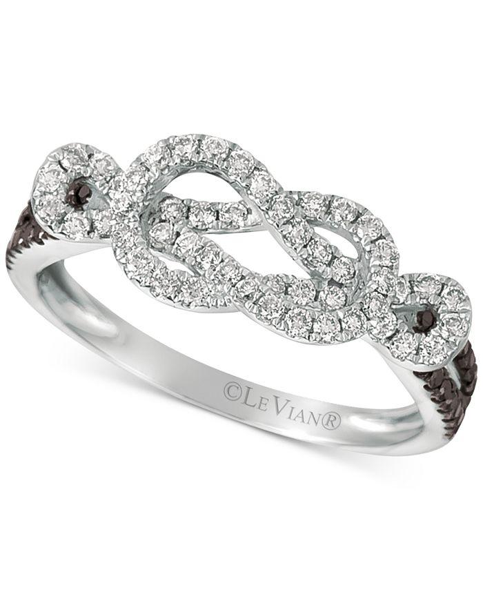 Le Vian - Diamond Loop Ring (1/2 ct. t.w.) in 14k White Gold