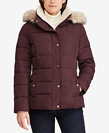 Lauren Ralph Lauren Down Coat, Created for Macy's