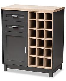 Itan Wine Cabinet, Quick Ship