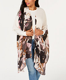 Steve Madden Poppies Please Poncho