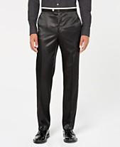 5ba31516700 Sean John Men s Classic-Fit Black Solid Tuxedo Pants