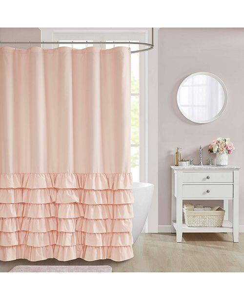 "JLA Home Fiona 72"" x 72"" Shower Curtain"