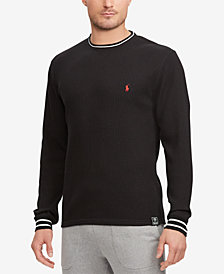 Polo Ralph Lauren Men's Open Weave Waffle-Knit Thermal