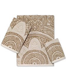 Avanti Sofia Cotton Terry Jacquard Bath Towel Collection