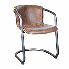 Benedict Dining Chair Light Brown-Set Of Two