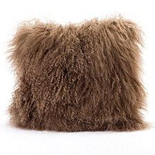 Lamb Fur Pillow, Natural