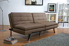 Memphis Double Cushion Futon Sofa Bed