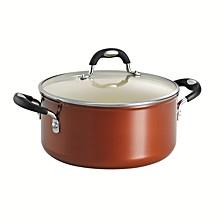 Style Ceramica Metallic Copper 5 Qt Covered Dutch Oven