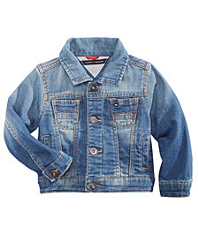 Tommy Hilfiger Baby Boys Logo Denim Jacket