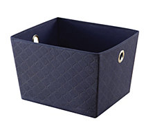 "Organize it All 13"" x 15"" Large Storage Drawer, Navy"