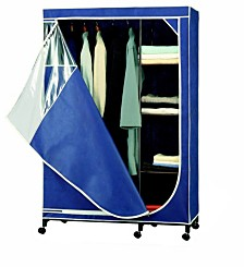Organize it All Deluxe Wardrobe, Blue