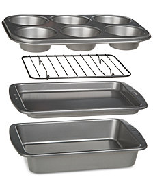 Epoca BakeIns Non-Stick 4-Pc. Toaster Oven Bakeware Set