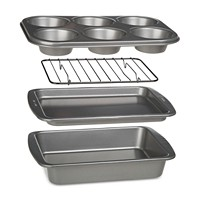 Epoca BakeIns Non-Stick 4-Pc Toaster Oven Bakeware Set