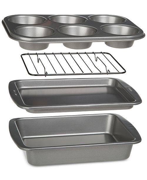 Epoca BakeIns Non-Stick 4-Pc. Toaster Oven Bakeware Set